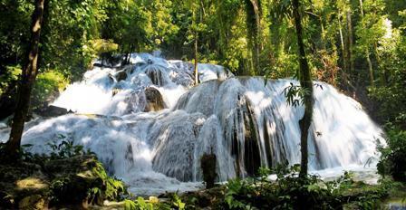 La cascade Saluopa