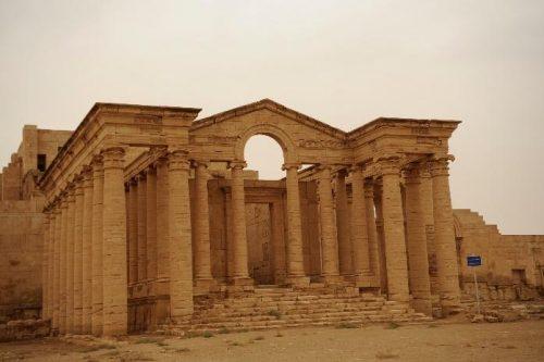 Entre la sécurité et le tourisme au Moyen-Orient: Iraq