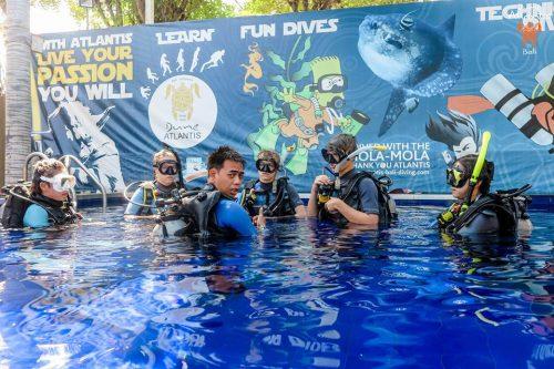 Apprendre à plonger grâce à un club de plongée français bali